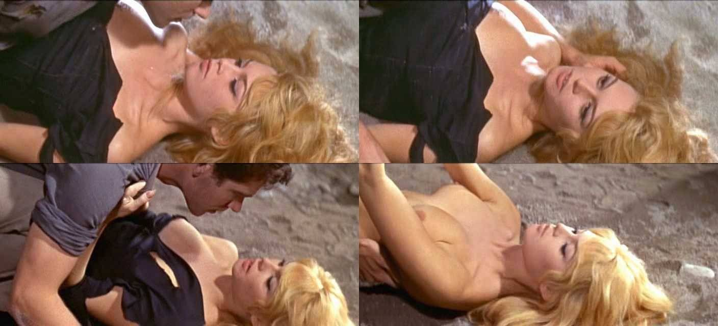 naked brigitte bardot in the night heaven fell < ancensored