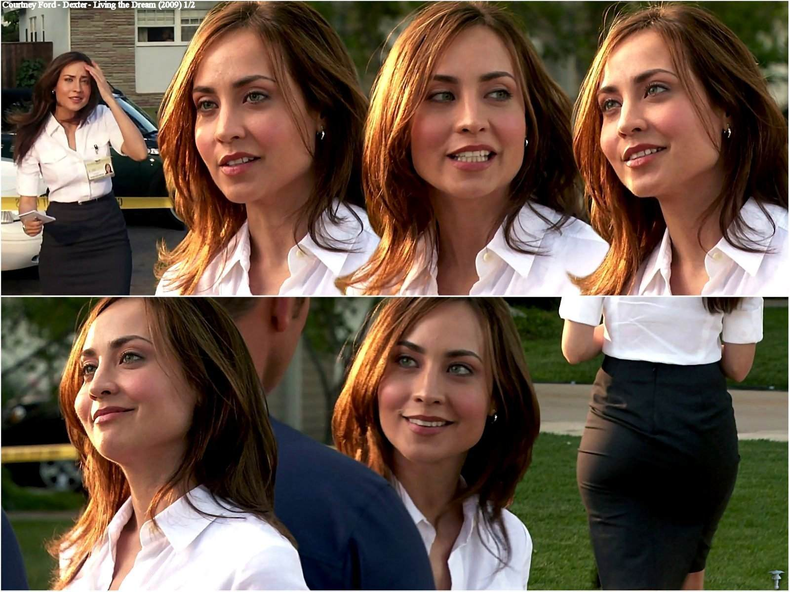 Naked Courtney Ford In Dexter Ancensored