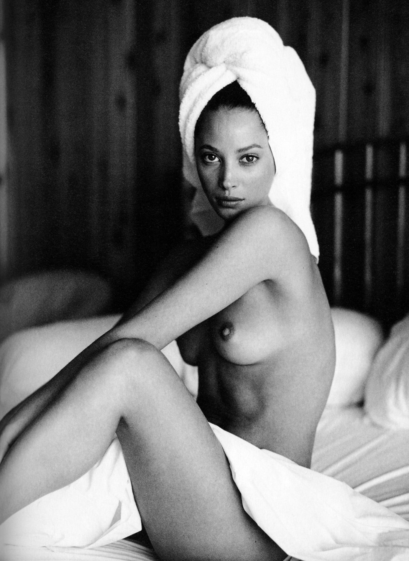 Naked Christy Turlington Unknown In Miscellaneous
