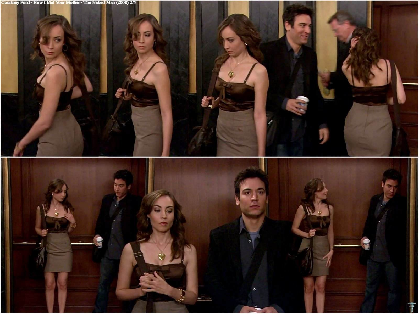 Naked Courtney Ford In How I Met Your Mother Ancensored