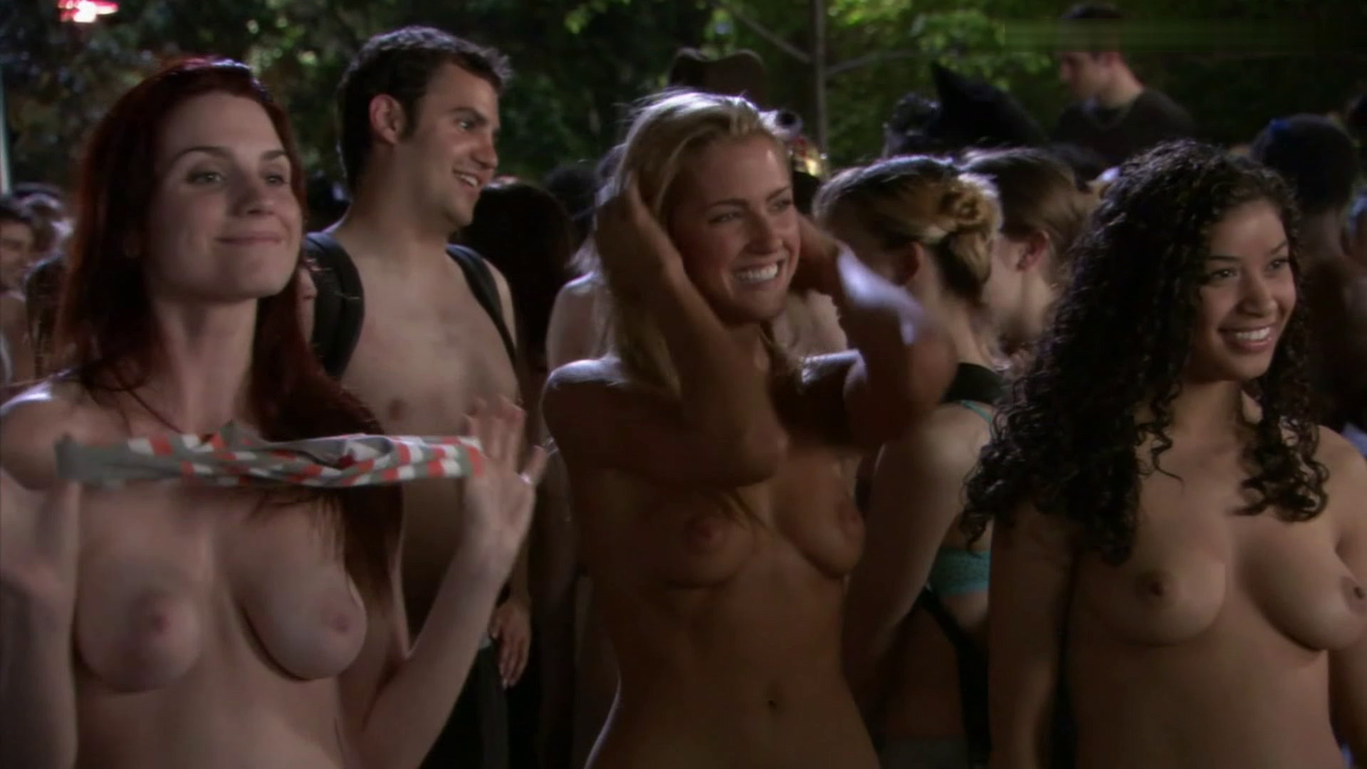 American pie the naked mile nude scenes