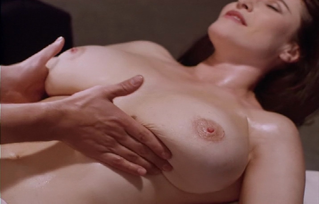 Nude full body massage video clip