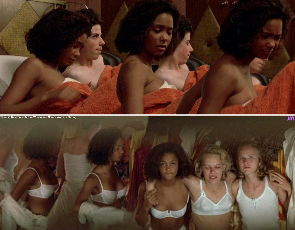 Thandie newton sex scenes in flirting
