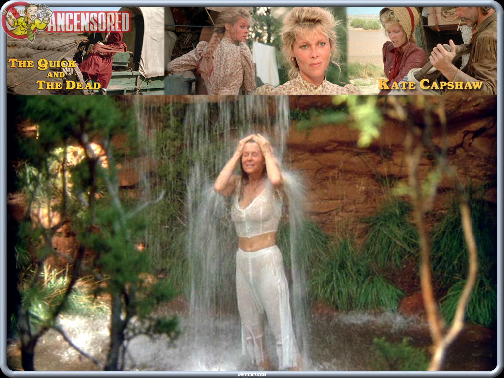 naked kate capshaw in the quick and the dead < ancensored