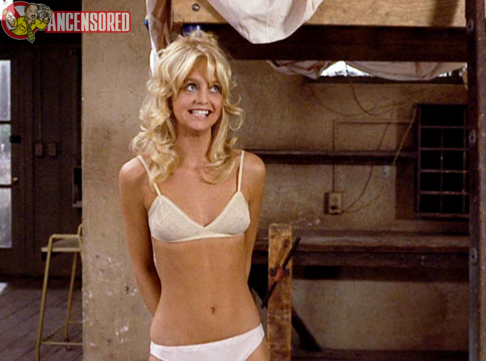goldie hawn nude video