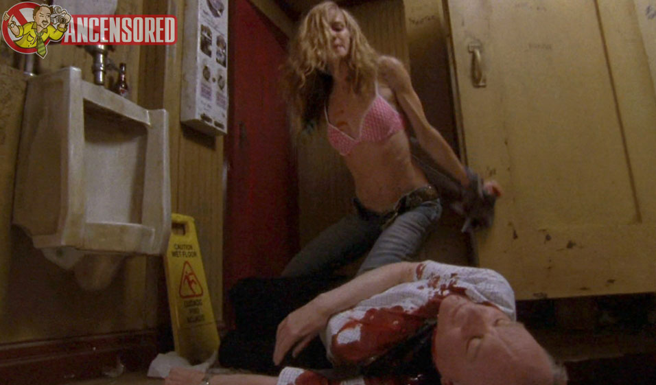 Holly hunter naked in saving grace