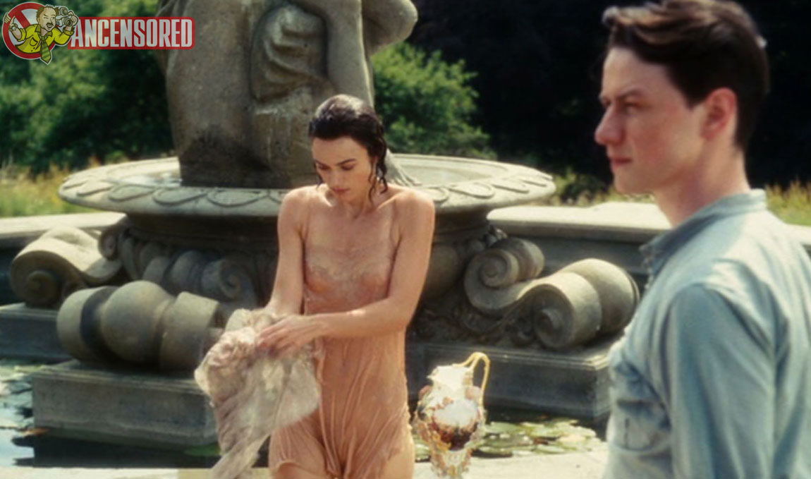 Keira knightley in atonement nude nearly
