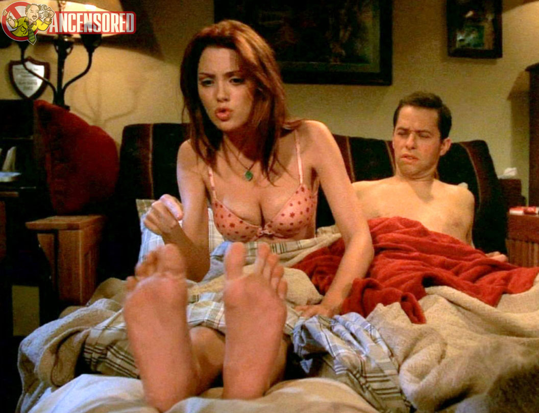 Two and a half men nude scenes