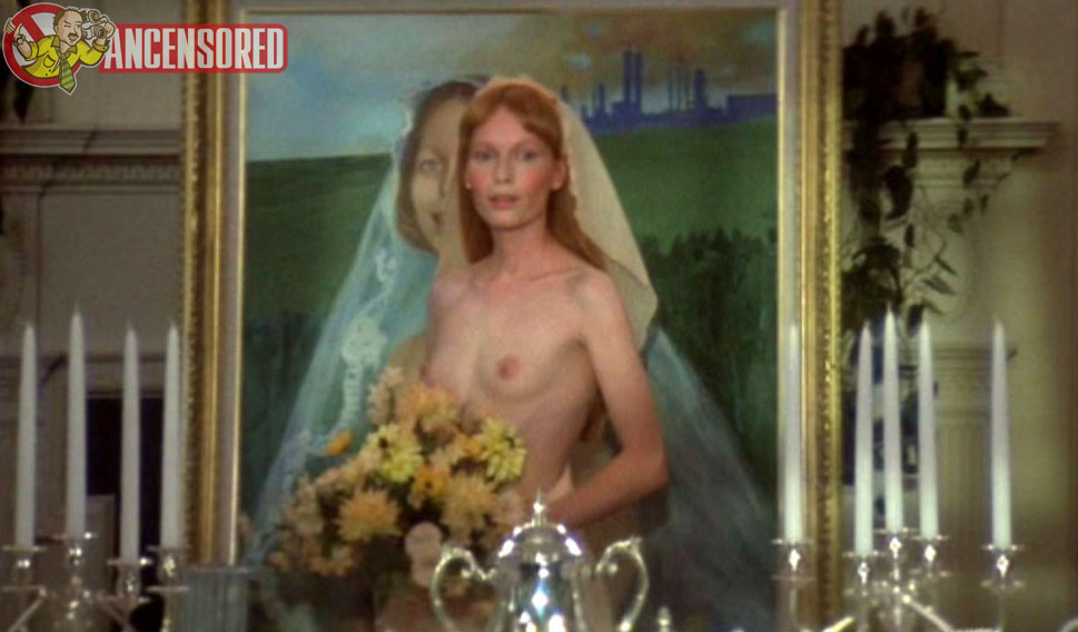 Naked Mia Farrow Years In A Wedding This Scene