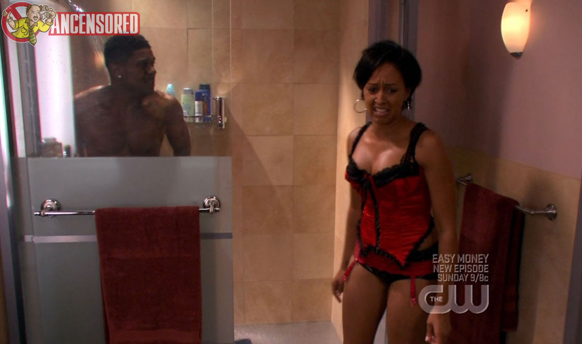 tia mowry lingerie in the game