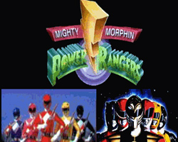 Mighty Morphin Power Rangers tv-show nude scenes