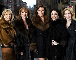 The Real Housewives of New York City tv-show nude scenes